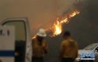 加州山火威胁圣巴巴拉