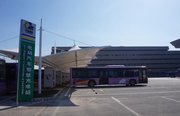 郑州机场高铁站部分新建小区 已配备新能源汽车充电桩
