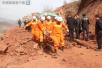 云南鲁甸县施工现场山体垮塌4人遇难