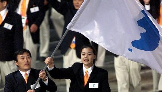朝韩统一组队参加平昌冬奥会 开幕式共同执旗队歌定为《阿里郎》
