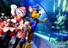 小朋友体验海底世界的奇妙景象 了解海洋环保常识 学习保护海洋知识