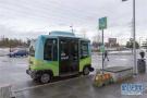 无人驾驶巴士在瑞典首都试运行