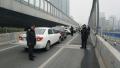 郑州农业路高架6车追尾 致花园路农业路拥堵