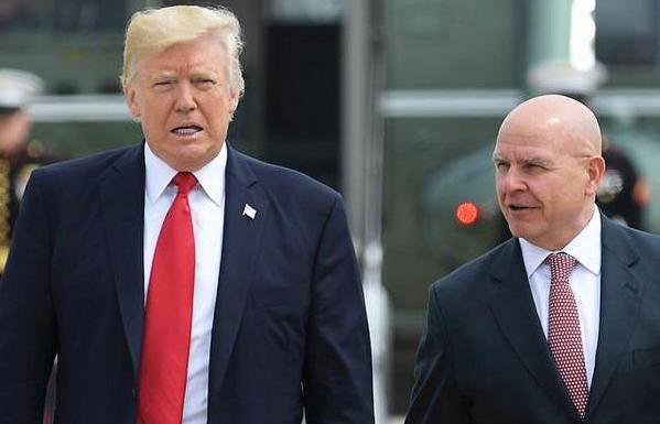 美国 美媒:特朗普正考虑替换麦克马斯特