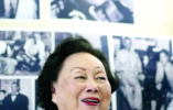 陈香梅生前曾两赴南京悼念航空烈士 还是一校名誉理事长