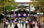 日本76名国会议员今日集体参拜靖国神社
