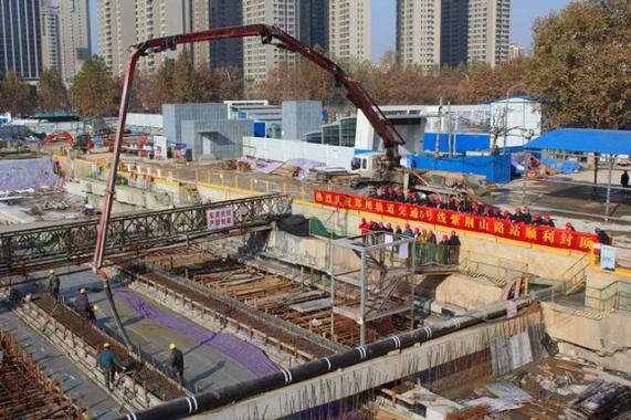 郑州地铁5号线要来了!2018年底或通车试运营