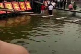 网传汝州景区网红桥游客溺水 涉事景区回应