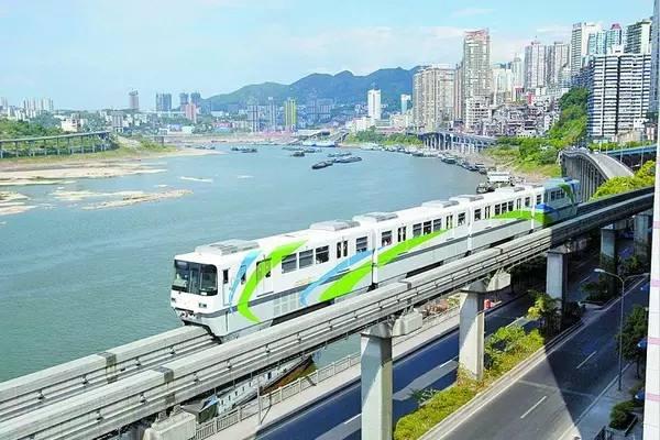城市轨道列车变身重庆旅游推荐大使