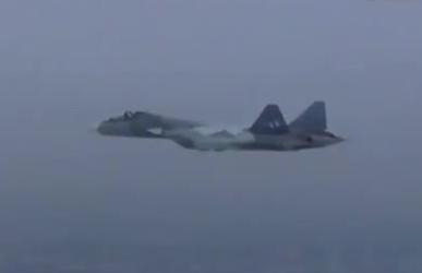 叙利亚局势 俄公布在叙测试苏-57战机视频