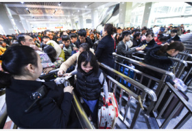"""旅客发送量将近三十亿人次 迎接春运亮""""四招"""""""