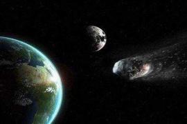 驚險!一顆小行星近距離飛掠地球 撞擊幾率千分之一