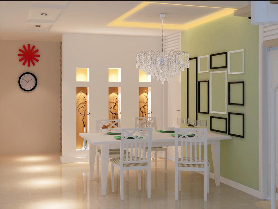 餐厅背景墙装修效果图 2016 最流行