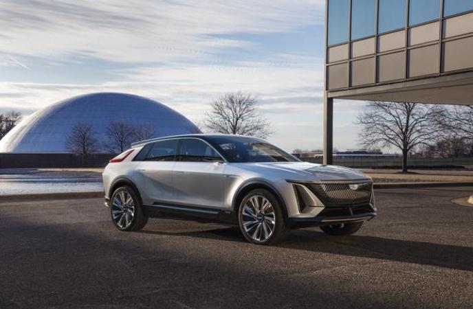 凯迪拉克概念车LYRIQ将于2021上海国际车展全球首秀