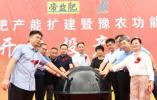 宁陵县30万吨帝益肥产能扩建暨豫农功能肥高塔生产线开工投产