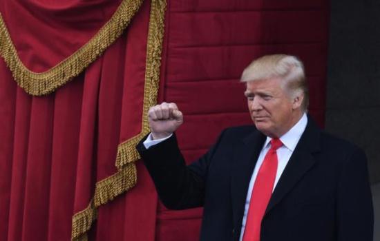 特朗普 中国/美国总统特朗普 新华社图