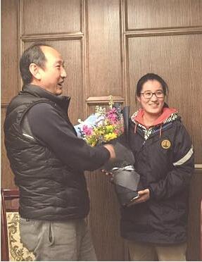 刘翔教练孙海平曾经亲自指导朱彧。