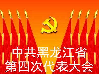 中共黑龙江省第四次代表大会