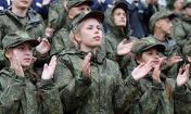 唯一有女性参加的军事比赛
