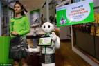 软银机器人Pepper亮相台湾 这货能看懂你表情