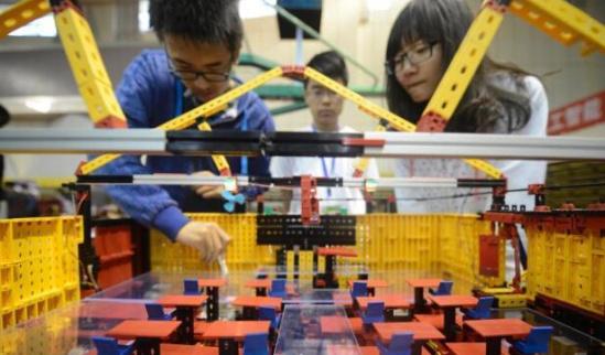 第七届全国大学生机械创新设计大赛在济南举行