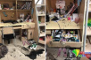 重庆一高校女生寝室被泼墨 床铺泡在墨水中衣物尽毁