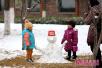 济南园林多措并举应对大雪天气 确保游人安全赏雪景