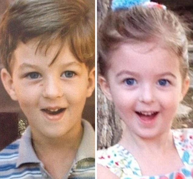 基因强大!两代人同年龄照片相似度惊人