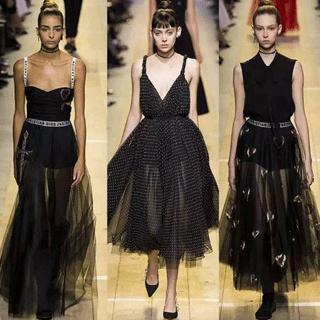 Dior大秀管你什么路线,美才是王道