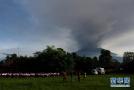 巴厘岛火山随时喷发