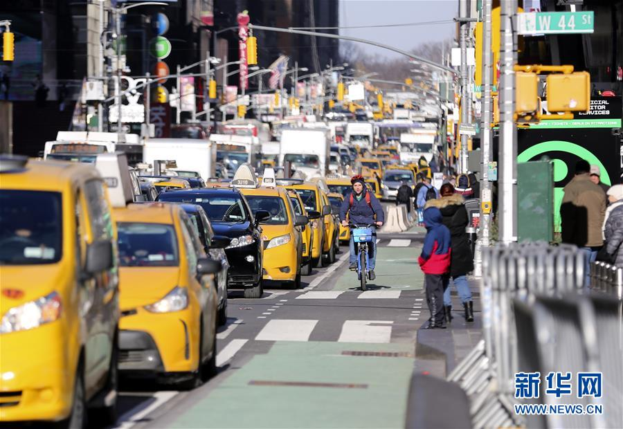 纽约增设更多自行车道