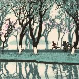 苏堤春晓-(英国大英博物馆收藏)