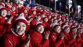朝鲜高级别代表团抵韩出席2018冬奥会开幕式