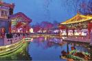 """济南""""一湖一环""""夜景带动 趵突泉花灯会客流同比涨三成"""