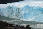 阿根廷冰川拱门崩塌