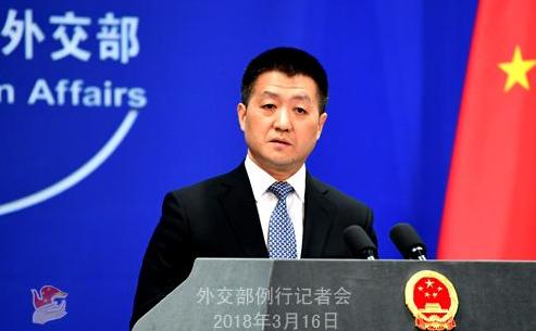 外交部 敦促美方慎重妥善处理涉台问题