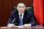 中国澳门特区行政长官与泰国总理举行会谈