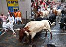 西班牙震撼奔牛节