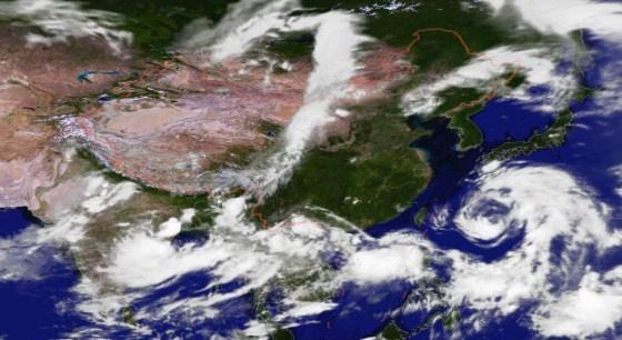 """中央气象台 台风""""安比""""靠近 发布台风黄色预警"""
