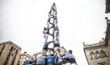 巴塞罗那庆节日秀叠罗汉神技
