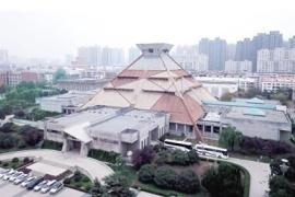 """河南博物院换上""""彩陶妆""""色调很接地气"""