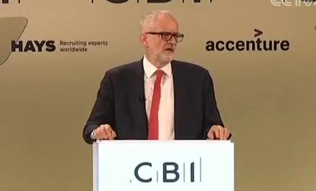 """英欧达成""""脱欧""""协议草案 英国 工党领袖:将对""""脱欧""""协议投反对票"""