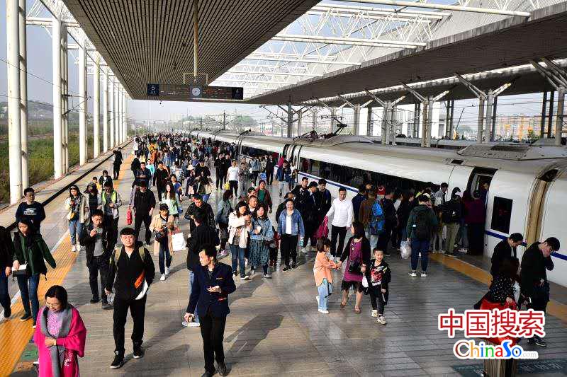 4月10日起河南省内新增高峰线列车5.5对 部分列车区段调整