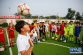 河南宝丰:足球夏令营 快乐度暑假