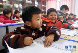 河南洛宁:山区校园里的美育课