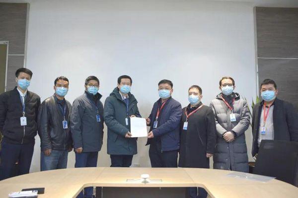 西安高新食药监分局助力点云生物医用口罩生产11