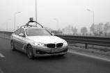 百度无人驾驶汽车完成路测