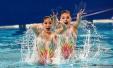 国际泳联花样游泳系列赛首日:中国队包揽四金