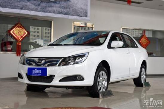 比亚迪纯电动新车e5上市 售价22.98万元起高清图片