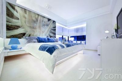 欧式蓝色调装修 仿佛置身于海洋之中-中国搜索家居